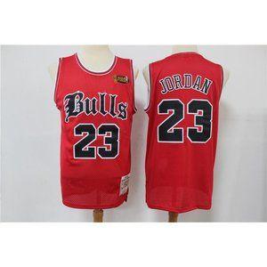 Chicago Bulls Michael Jordan Red  Jersey